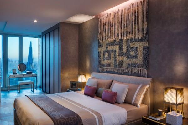 Armani Casa bedroom