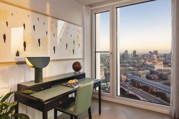Armani Casa room view