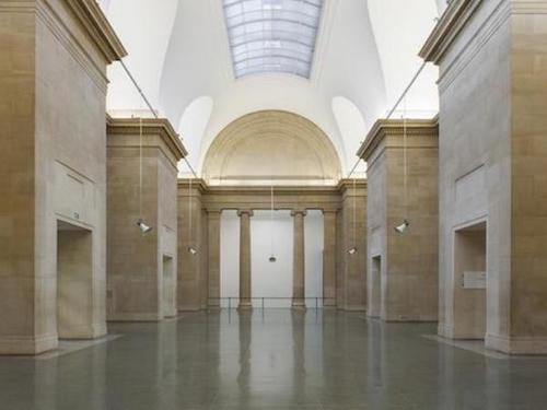 empty Duveen galleries in Tate Britain