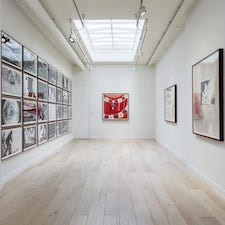 gallery painted by commercial painters and decorators in london